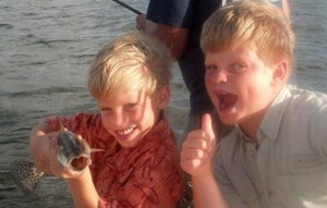 Many children in Charlotte County grow up fishing and boating.